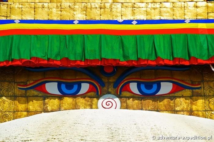 Oczy Buddy, Kathmandu fot. Maciej Wódzki