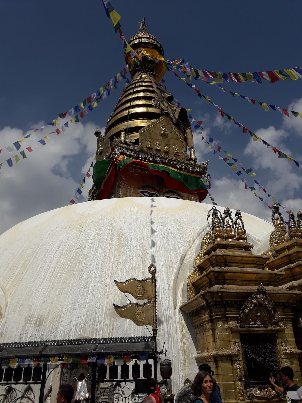 Swiątynia Swajambunath - fot. Jerzy Kostrzewa