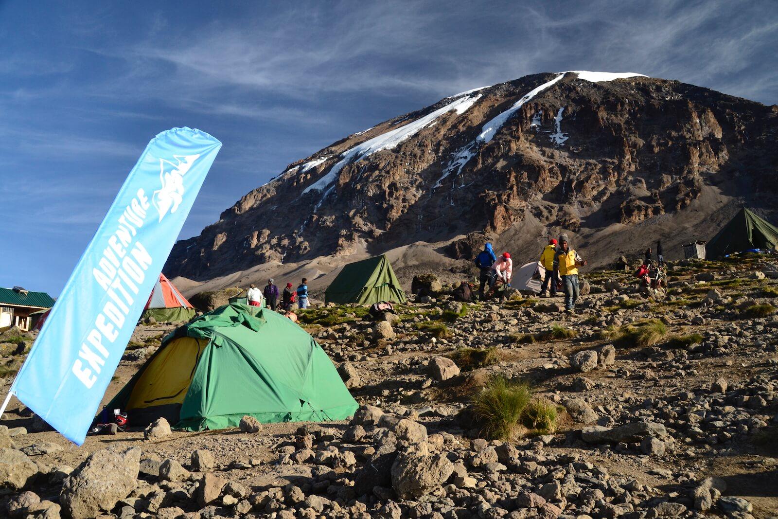 Camp Kranga pod Kilimanjaro - fot. Jerzy Kostrzewa