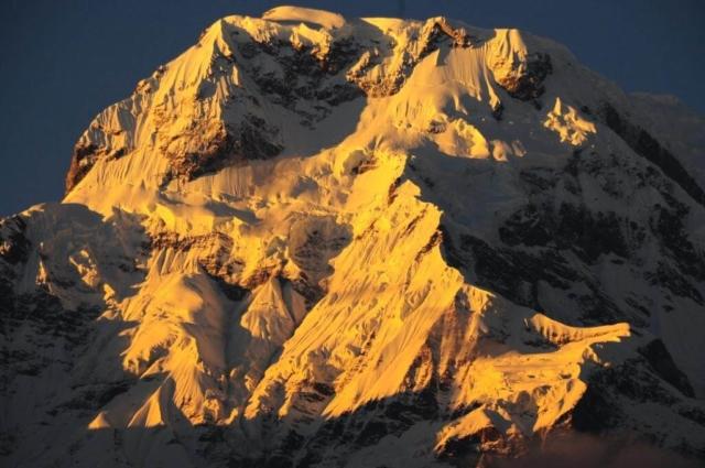Annapurna Południowa - fot Jerzy Kostrzewa
