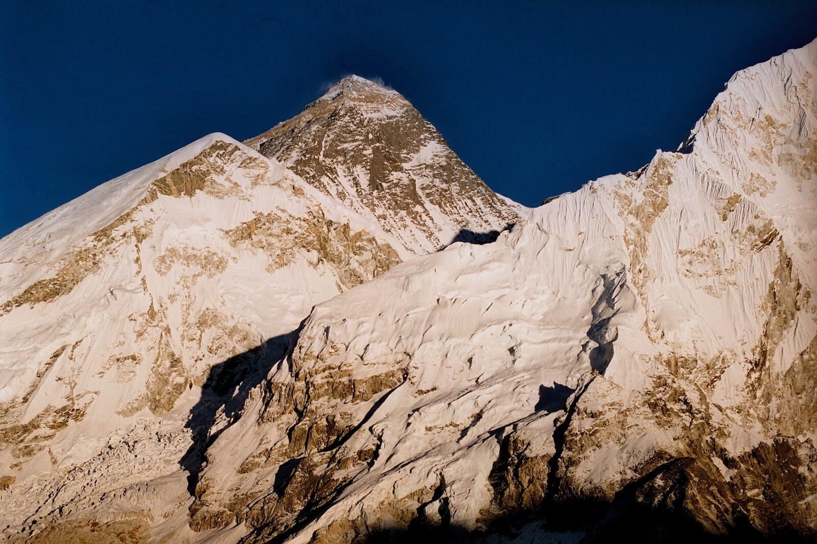 Everest widziany z Kalapatar (fot.Jerzy Kostrzewa)