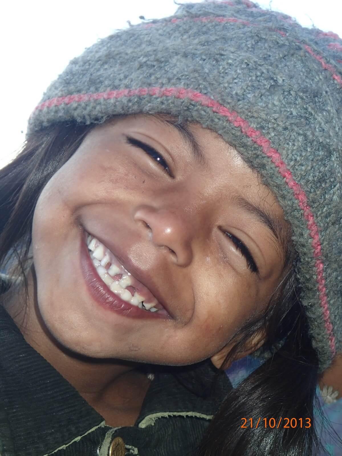 Dziecko z wioski Gandrung - fot. Jerzy Kostrzewa
