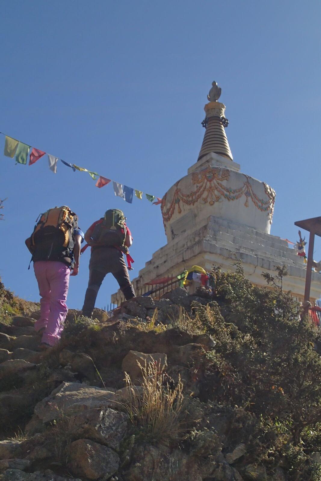 Na treku w kierunku Bazy pod Everestem (fot.Jerzy Kostrzewa)