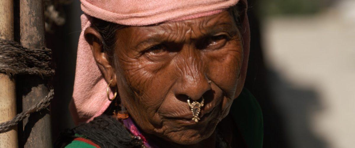 Kobieta z rejonu Annapurny fot. Jerzy Kostrzewa