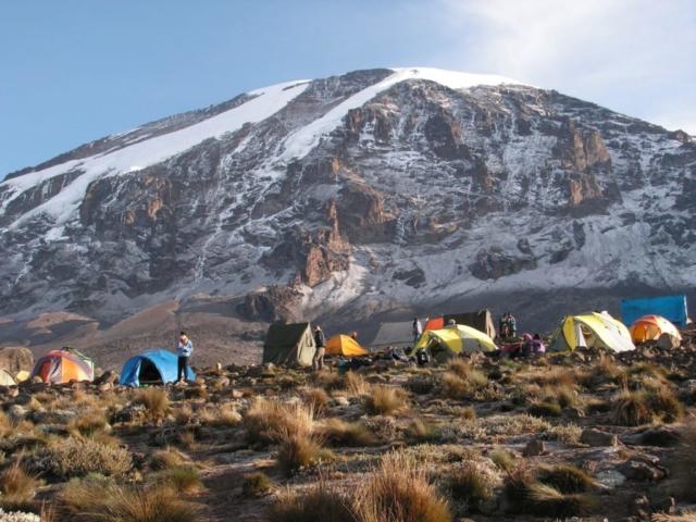 Camp Karanga , fot. Jerzy Kostrzewa