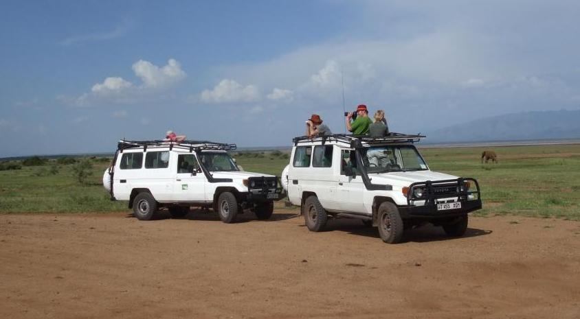Na safari , fot. Jerzy Kostrzewa