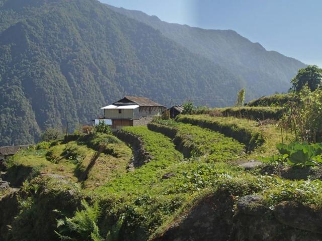 Na treku pod Annapurnę fot. Jerzy Kostrzewa