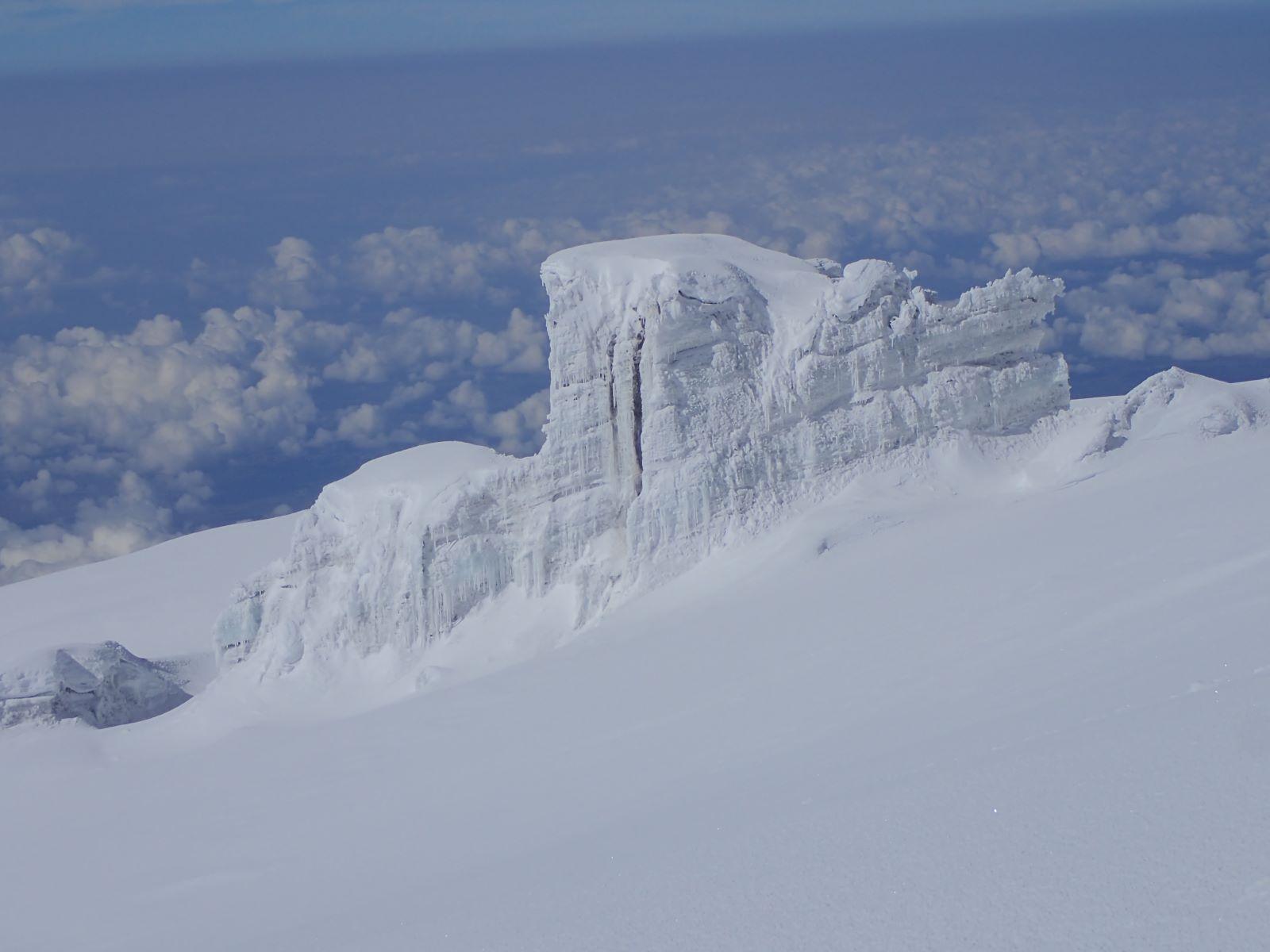 Lodowce Kilimanjaro fot. Jerzy Kostrzewa
