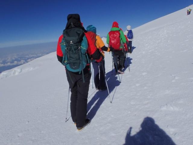 W kierunku Uhuru Peak , fot. Jerzy Kostrzewa