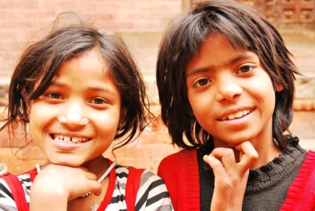 Dzieci w Dolinie Kathmandu fot. Jerzy kostrzewa