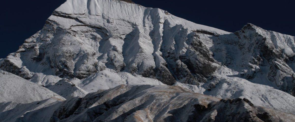 Tent Peak rejon Annapurny fot. Jerzy Kostrzewa