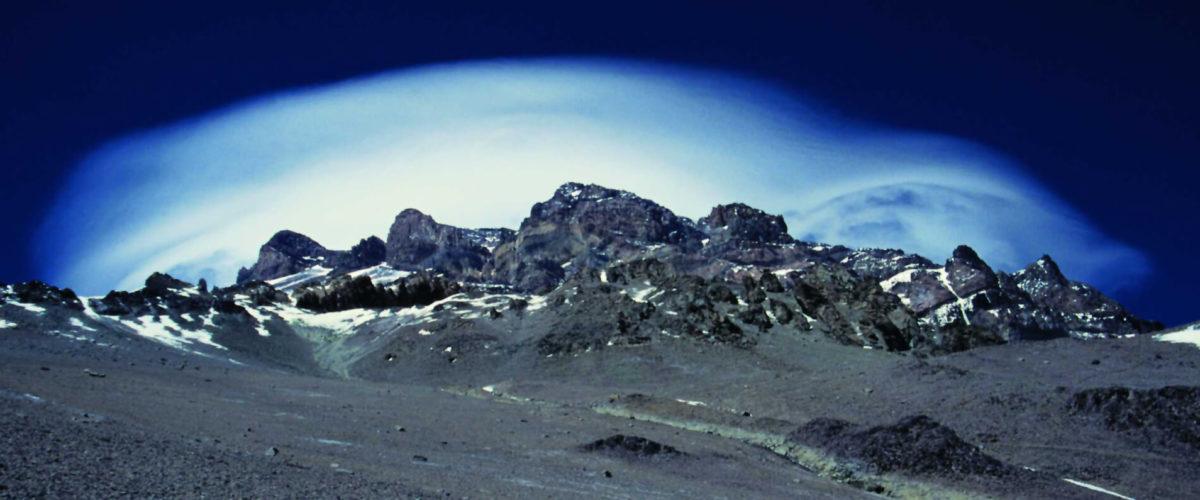 Biały wiatr nad Aconcagua , Argentyna - for 1995 Jerzy Kostrzewa