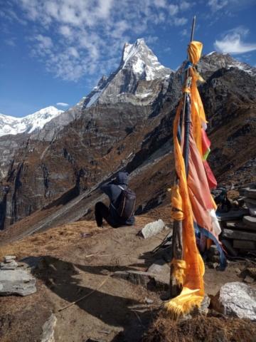Mardi Himal trek - Machapuchare - fot. Tadeusz Szymanowski