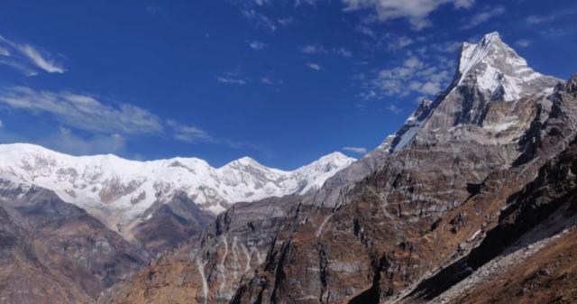 Mardi Himal trek - Machapuchare fot. Tadeusz Szymanowski
